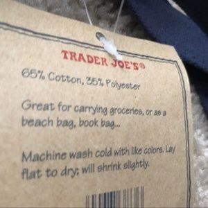 Trader Joe's Bags - NWT 2 Trader Joe's Reusable Canvas ♻️Eco Tote Bag